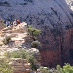 Ledge at the top of Angel's Landing