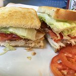 Turkey sandwich - delicious!