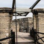 Drawbridge to over the moat