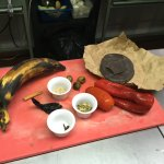 Ingredients for our chocolate Mole dessert