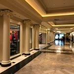El lobby del hotel