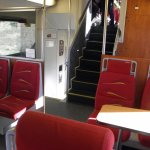 Inside the NM Rail Runner.....