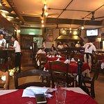 Excelente restaurante Italiano. Pizza deliciosa. Servicio excelente y muy rápido.
