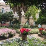 Church of Saint Anne - beautiful garden
