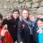 Con Ronald en Machu Picchu..Gracias Genio!