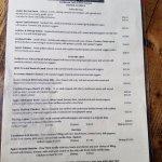 eclectic menu