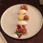 Strawberry shortcake- deconstructed