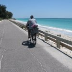 Bikeing alone the beaches on Casey Key Rd. The best.