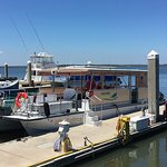 Our pontoon boat, the Miss Kaylynn