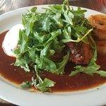 Beef lip terrine and beef brisket