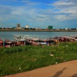 Boats for Hire along Sisowath Quay