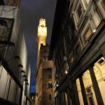 View of the Palazzo Vecchio Tower