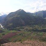Urubamba river and Inca's sacred valley. Cusco