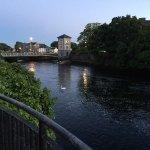 Riverside Walk at dusk