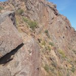 About one hour to get to the top of Camelback mountain folling the Cholla trail