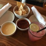 QUESO! And good margaritas!
