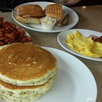 Brunch Cubano  & Eggs,BaconSausage & pancakes_large.jpg
