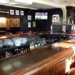 the bar at Ray's Evergreen Tavern