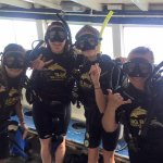 After completing our Open Water diving course, ready for the Advanced!
