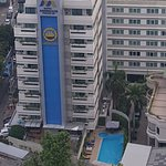 Top View of Hotel Mermaid Bangkok