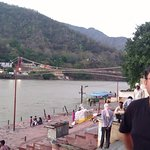 View from the ghat