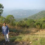 This is Mr. Biju & the place is on top of the hill on the foot of which the resort is situated.