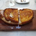 Truffle Gruyere & Jamon Toasted Sandwich