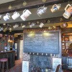 A view inside the Kings Head