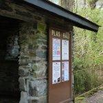 The tiny Plas Halt Station