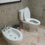 separate toilet room