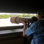 The 'hides' attract serious enthusiasts with their cameras