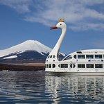 富士山と遊覧船