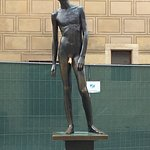 One of the bronze statues lovingly touched by ladies to ensure fertility.