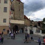 Exit gate of Prague castle