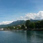 Départ d'Evian vers Lausanne