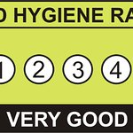 We're proud to have a 5 star food hygiene rating!