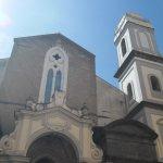L'entrata in basilica