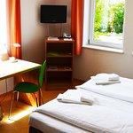Zimmer mit Ausblick ins Grüne