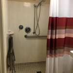 Shower in accessible room