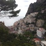 View of Atrani from the top of the lane way, if you walk far enough