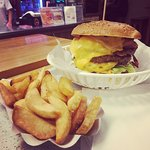 Godzilla Burger - veeeeeery big and yummy.