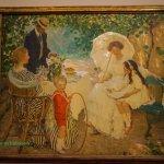 The arbour, E. Phillips Fox, 1910