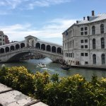 Fabulous view of the Rialto Bridge
