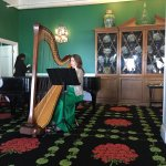 The Grand Hotel takes you back in time: seagulls, clip clip of horses and beautiful harp music.