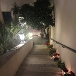 External Staircase at night