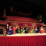 Golden Dragon Water Puppet Theater ภาพถ่าย