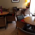 This is the executive lounge