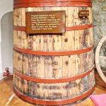 1904 original Sebastiani wine barrel