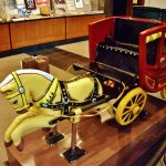 Coin operated Stagecoach for small children