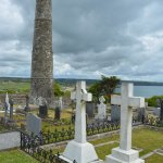 Graveyard and Round Tower